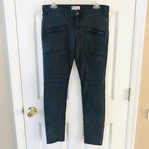 Free People black skinny jeans .